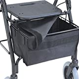 "GO! Mobility Walker Basket Cover Size: 17.25"" H x 7.5"" W x 0.5"" D"