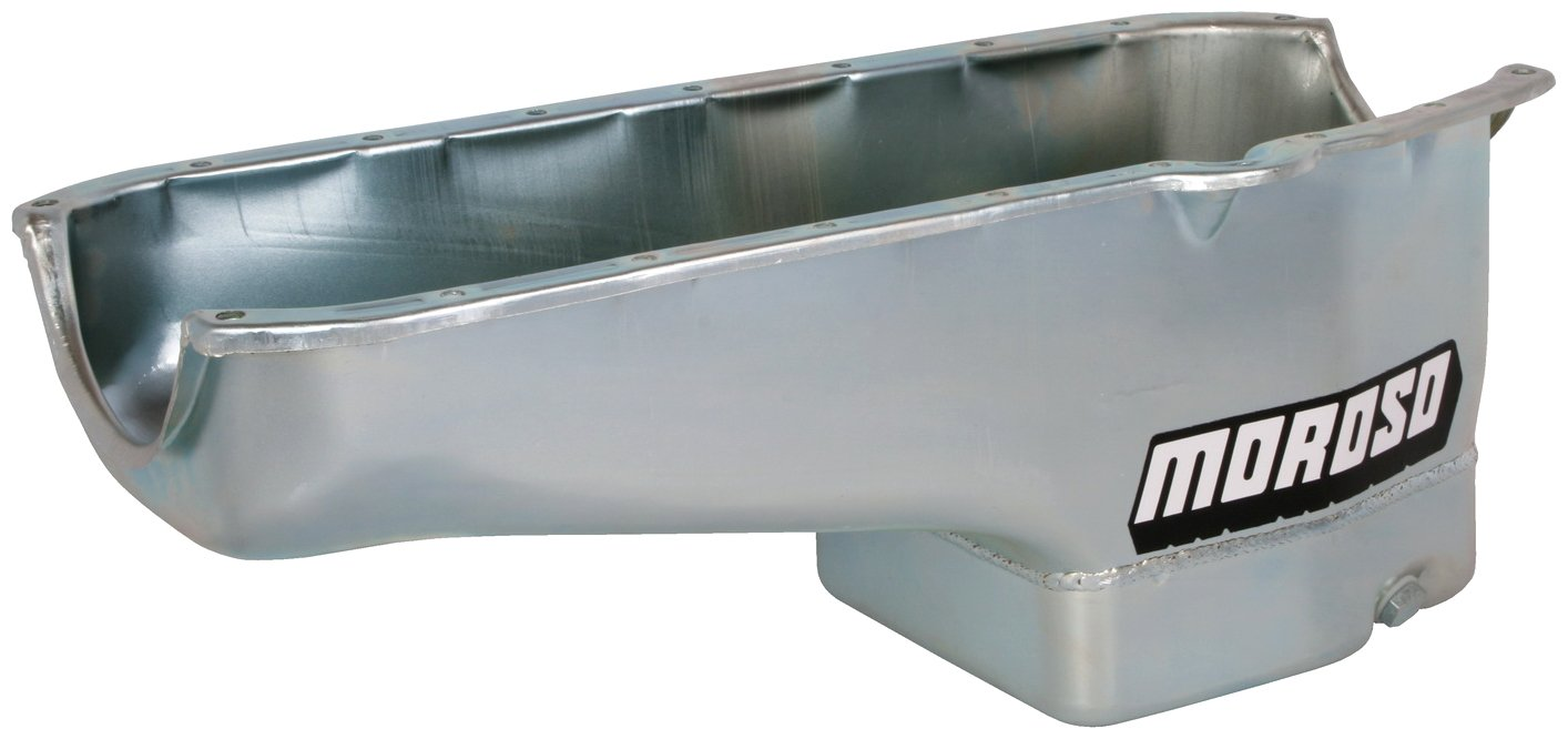 Moroso 20180 8.25'' Oil Pan for Chevy Small-Block Engines