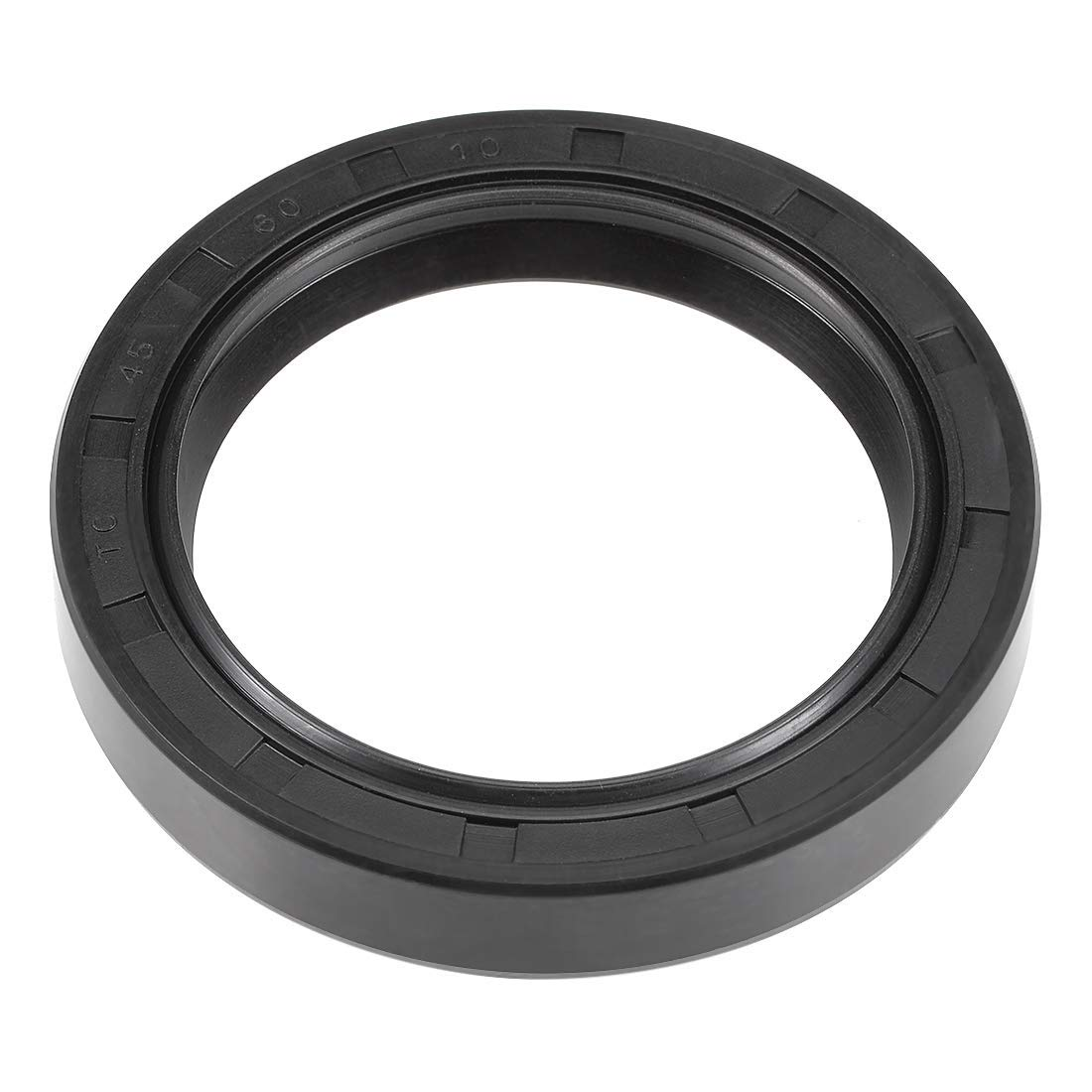 TC 45 mm x 60 mm x 10 mm Double Lip Nitrile Rubber Cover Oil Seal