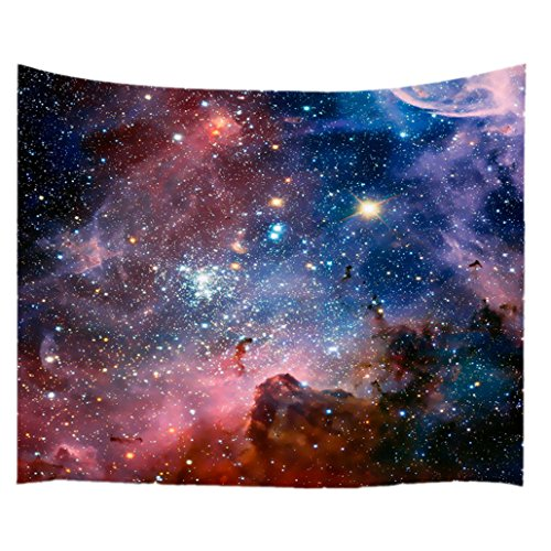 goodbath Space tapestry, Universe Nebel Star in Outer Space Fabric Wall...