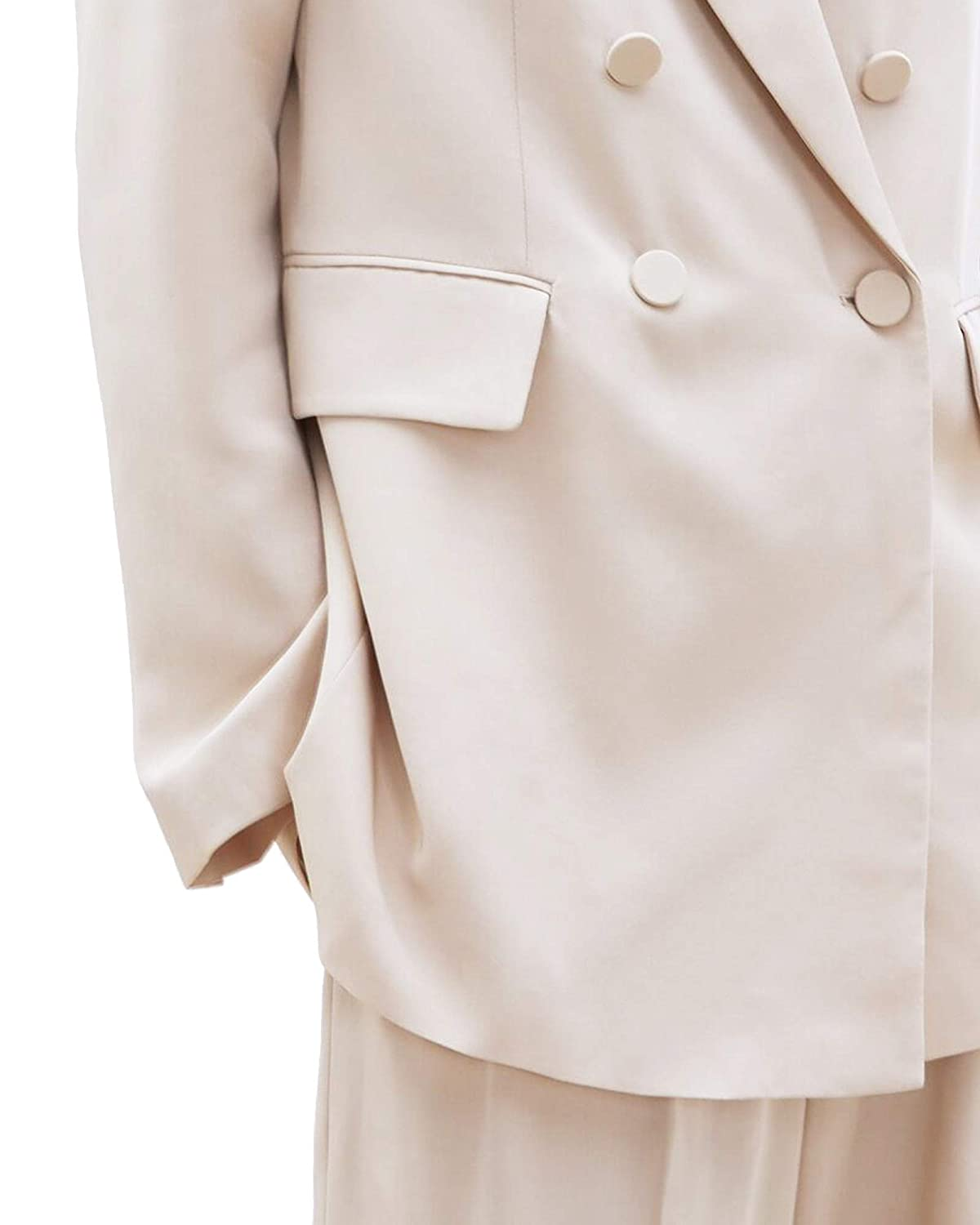 Large Zara Women Double breasted blazer with buttons 2733//599