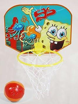 Bob Esponja - Mini Basket (Saica Toys 8309): Amazon.es: Juguetes y ...