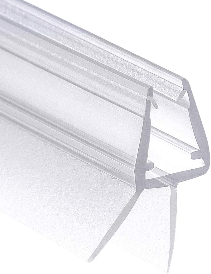 f/ür 6mm 7mm 8mm Glast/ür St/ärken Wasserabweisende Duschdichtung oder Duschkabinen-Dichtung mit optimal angeordneten Gummilippen Wellba Premium Duscht/ür Dichtung 2x 70cm