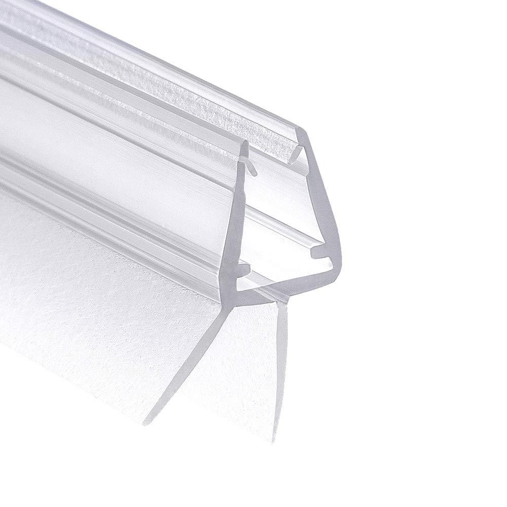 Wasserabweisende Duschdichtung mit optimal angeordneten Gummilippen 3x 100 cm Wellba Premium Duschkabinen-Dichtung - Duscht/ür Dichtung f/ür Glast/ür mit 6mm 7mm oder 8mm Dicke