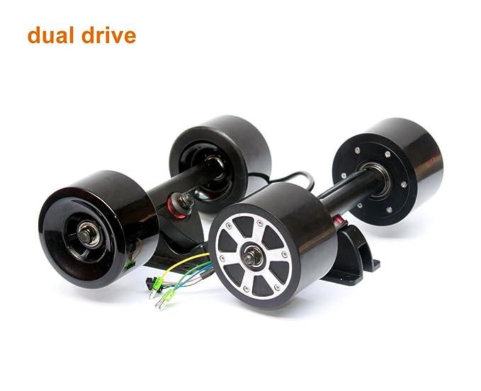 Amazon.com: Placa de Longboard Hub Kit de Motor Motor sin ...