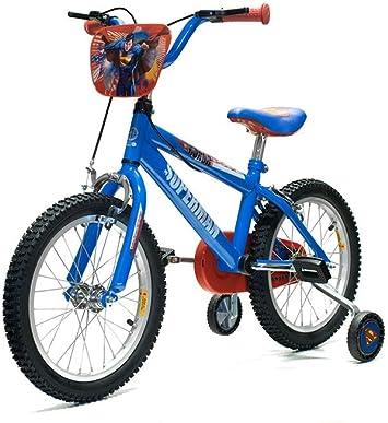 16 pulgadas Yakari Superman – Bicicleta infantil con ruedines 16 ...