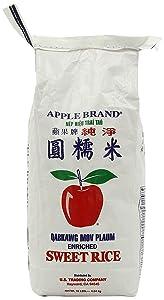 Apple (USA) Sweet Sticky Rice, 10-Pound