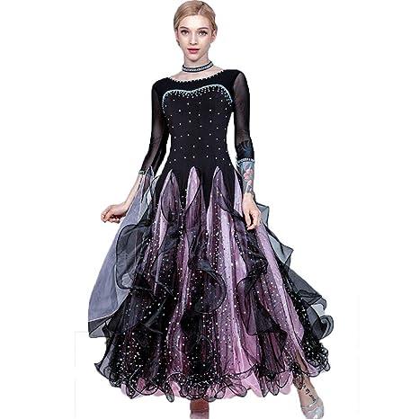 WSJS Vestido de Baile lírico Vestido de Fiesta para Mujer Falda ...