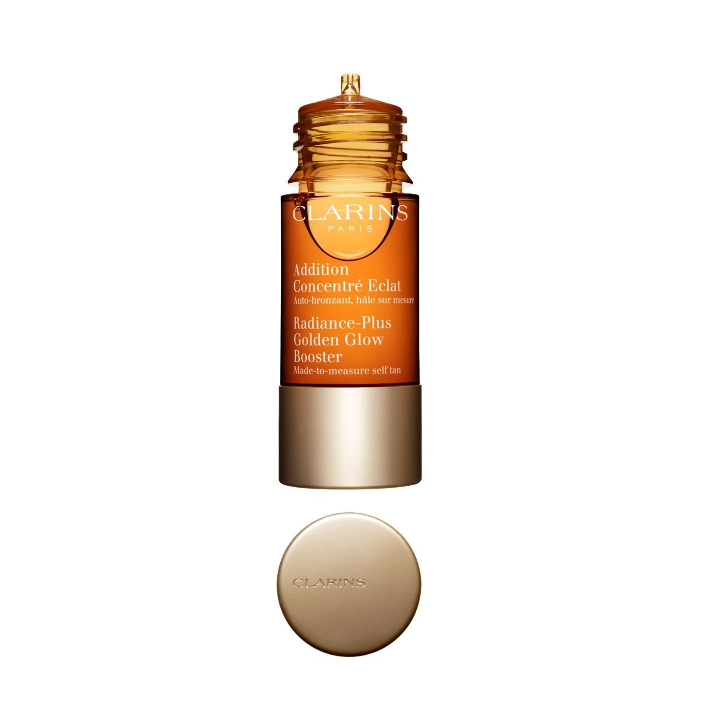 Clarins Radiance-Plus Golden Glow Booster Self Tanning Fluid, 0.5 Ounce by Clarins (Image #2)