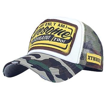 76a3b8d886b Baseball Hats for Women, Iuhan Embroidered Letter Cap Fashion Baseball Cap  Topee Mesh Hip-hop Hats (B) : Beauty