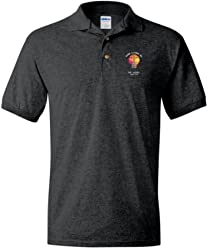 eThought Christian Apparel, by The Lord is My Light, Psalm 27:1 Polo Shirt