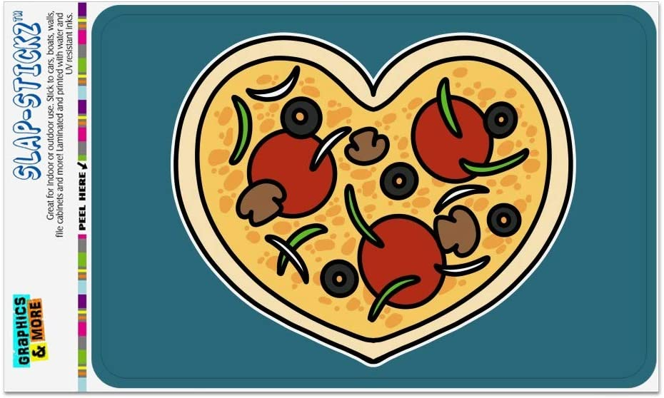 GRAPHICS /& MORE Heart Pizza Pie Love Home Business Office Sign