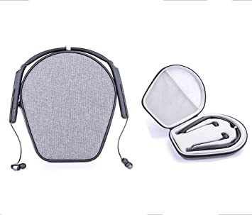 Funda para Auriculares Sony WI-H700 H.Ear y Sony WI-1000X con cancelación de Ruido inalámbrico de Alta resolución, Funda rígida de Viaje, Funda Protectora ...