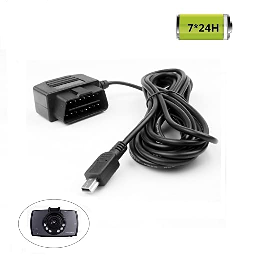 3 opinioni per REARMASTER Dash Cam Telecamera Cavo di alimentazione con Interruttore due