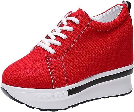 Chaussures compensées Baskets Chaussures rehaussantes