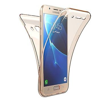 Carcasa Samsung Galaxy J7 2017, Caso Funda Samsung Galaxy J7 2017, JAWSEU Samsung Galaxy J7 2017 Carcasa Caso Cover 360 Grados Protección Completa ...