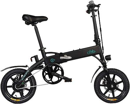 SZPDD FIIDO D1 Bicicleta eléctrica Plegable Tres Modos de ...
