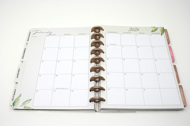 2019 2020 18 meses Classic Happy Planner viene con pegatinas ...