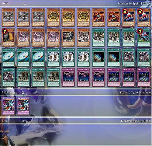 YuGiOh Ancient Gear 2017 Budget Deck + Sleeves Tournament Ready - Tournament Ready Gear Deck