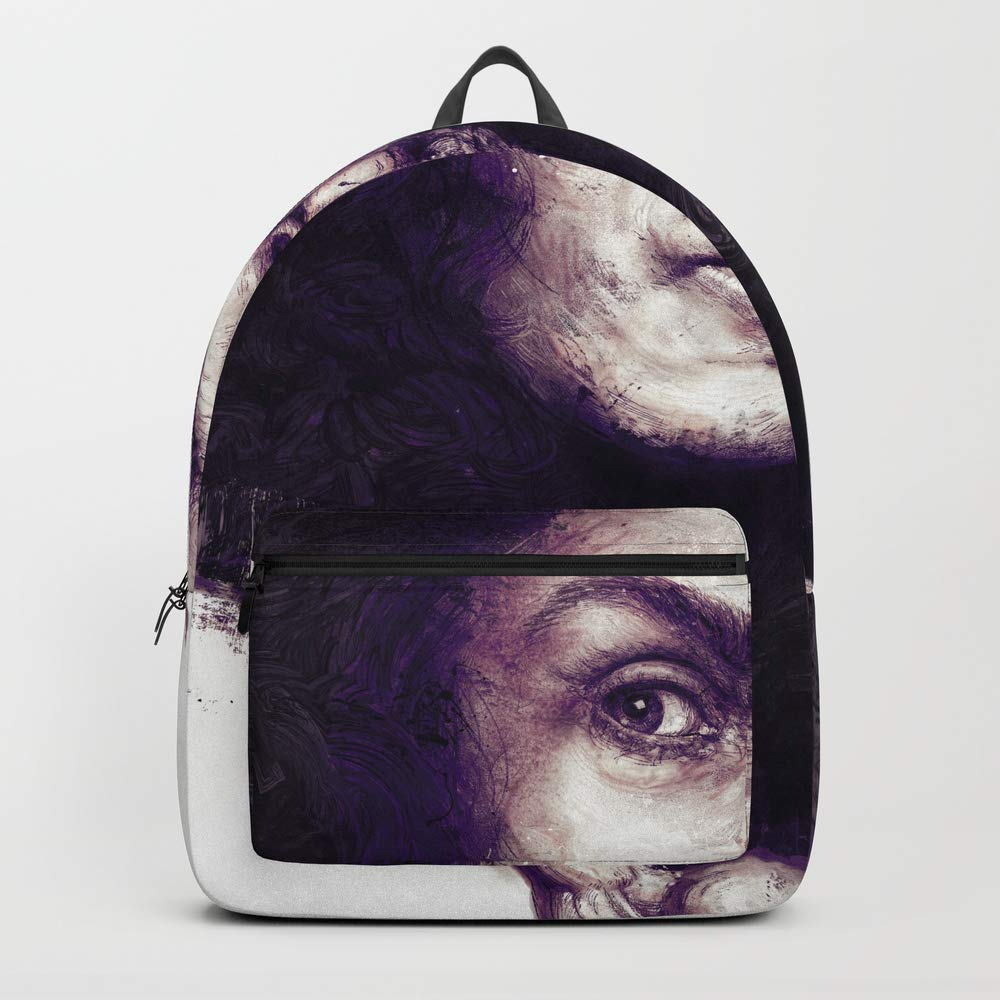 Society6 Backpack, Tribute to Dio by Hubert_fine_Art, Standard Size