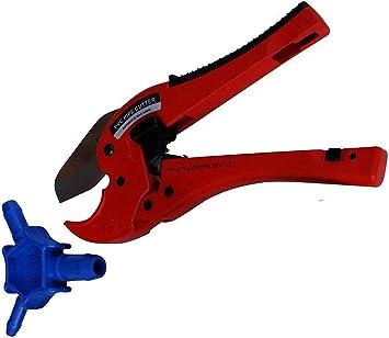 Pipetec Rohrschere für Verbundrohr bis 40 mm Rohr-Schere Mehrschichtverbundrohre