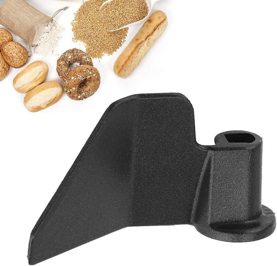 Ooscy Breadmaker Paddle, Black Dough Hook, Bread Maker Paddle kneading Knife Paddle Made of Stainless Steel for Bread Maker Machine
