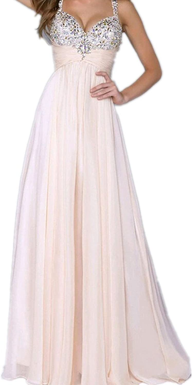 Huixin Fashion Abendkleider Lang Damen Festlich Elegant