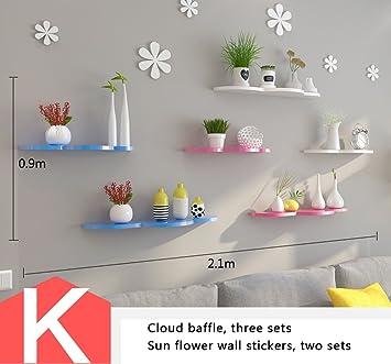 Kinderzimmer Wanddekoration | Shelf Wandgestell Trennwande Kinderzimmer Wanddekorationen