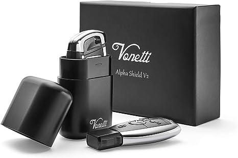 Premium Keyless Car Key Signal Blocker Box Aluminium Anti-Theft Faraday 1 Pack