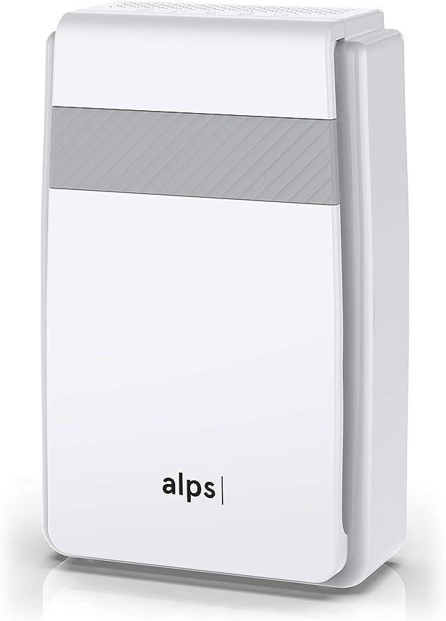 Purificador de aire Alps XL | El original | Calidad Premium | Gran volumen | Contra las alergias y enfermedades | 5 filtraciones | Premium HEPA | Ionización suave | ALPS_PA_M1 | Marca francesa: Amazon.es: Hogar