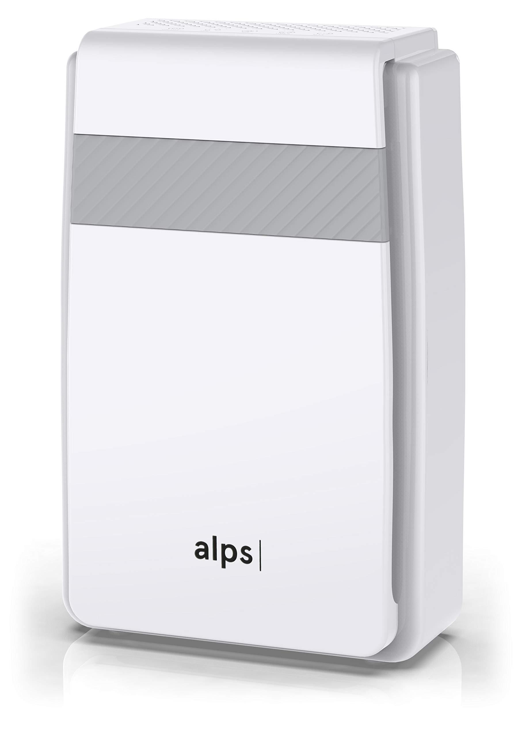 Purificateur d'air Alps Technologies | CADR élevé | 5 étapes de filtration | Préfiltre + HEPA premium + charbon-actif + filtre à formaldéhyde + ioniseur | ALPS_PA_M1 | Marque Française product image