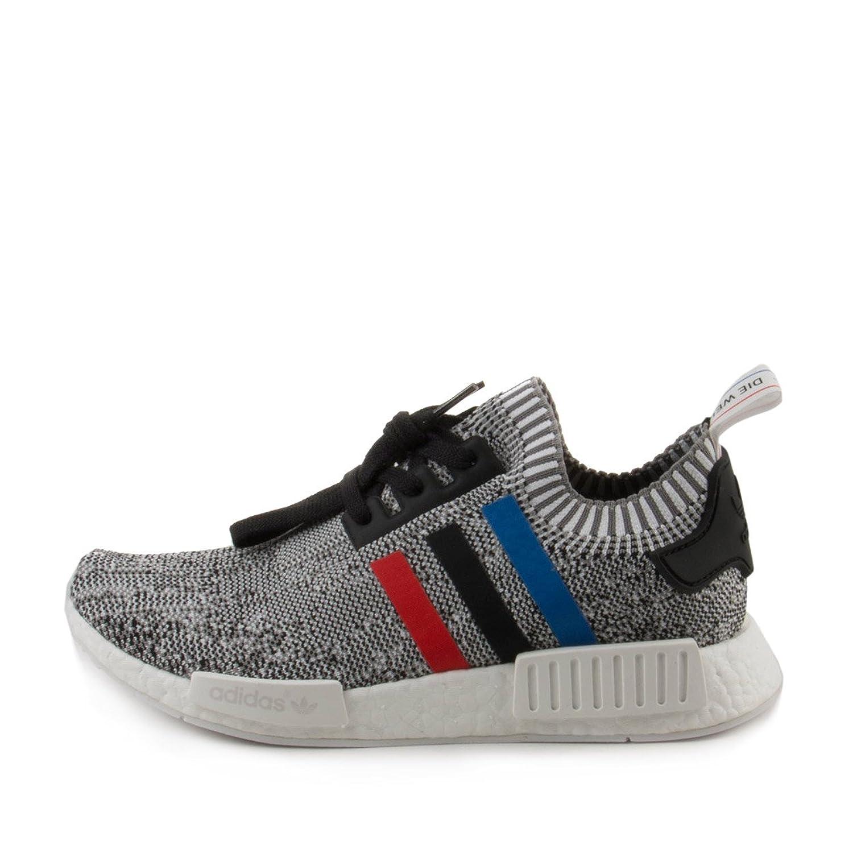 Adidas Mens Tricolores Nmd R1 Pk Tissu Noir / Blanc VtAcSE