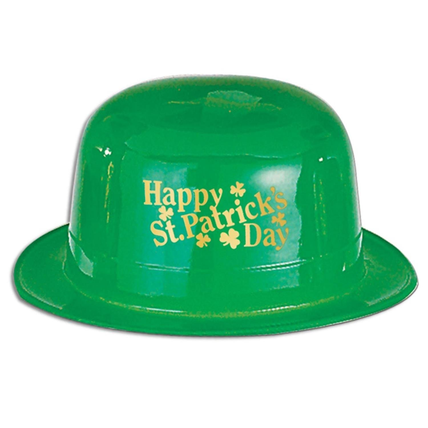 Pack of 48 Happy St. Patrick's Day Green Derby Hat Party Accessories by Party Central