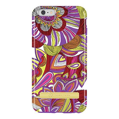 iPhone 6 Plus Case, [Protective] Trina Turk Dual Layer Case Case for iPhone 6 Plus-Amazonia Purple