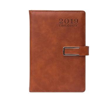 NTCY Cuaderno Espesar 400 Páginas Programación De Agenda ...