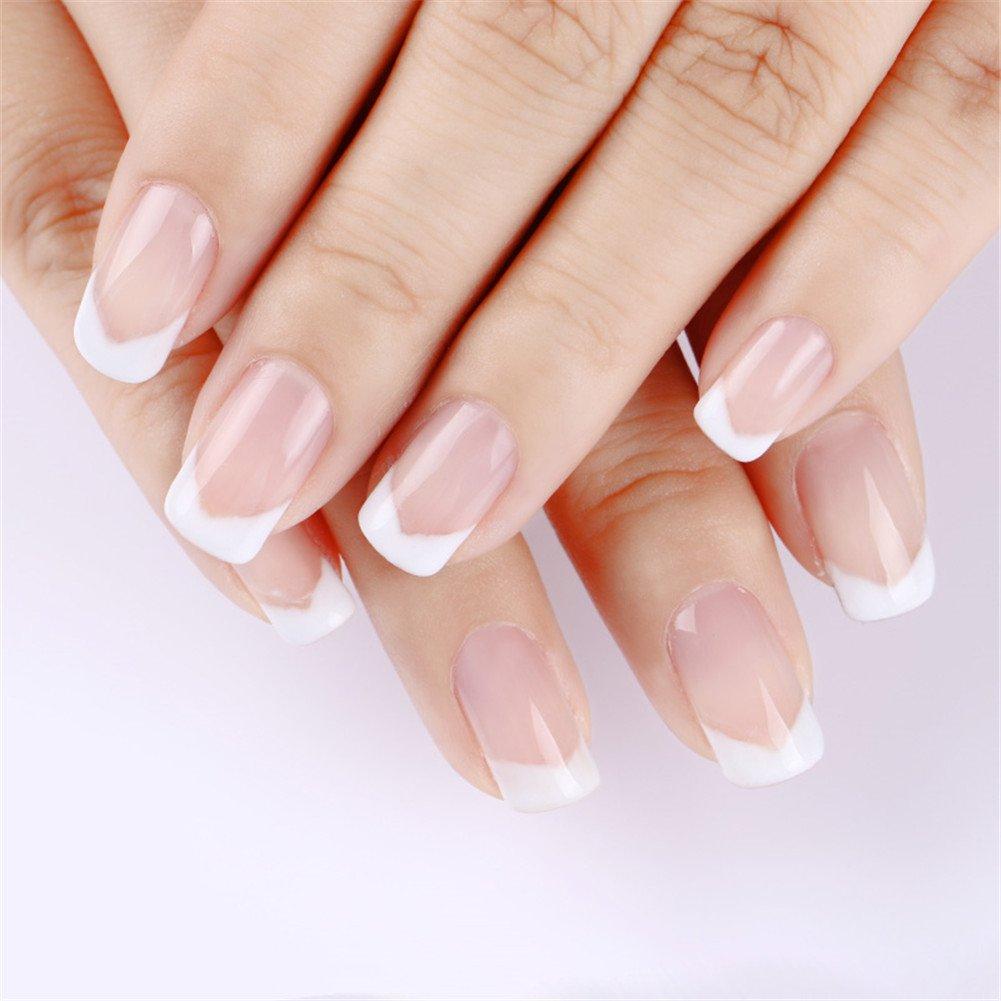 1 pc Nail Poly UV Gel Construcción rápida Nail Tips Finger Extension Glue Nail Art UV LED Building Gel Nail Enhancement Tool (Clear): Amazon.es: Belleza