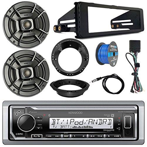 Kenwood Marine Digital Media Bluetooth Receiver, 2x Polk 6.5