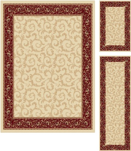 Beige Transitional Leaves - 2