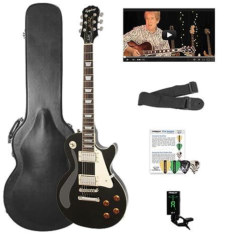 Epiphone Les Paul Standard solid-body Kit de Guitarra Eléctrica con chromacast Les Paul cuerpo