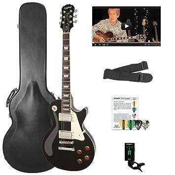 Epiphone Les Paul Standard solid-body Kit de Guitarra Eléctrica con ...