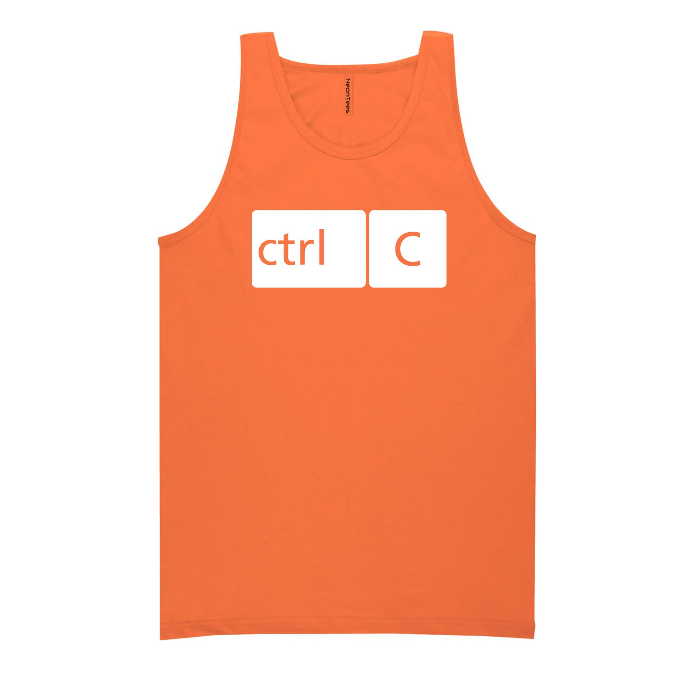 5 Bright Colors ZeroGravitee Youth CTRL C Bright Neon Tank Top