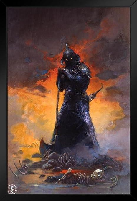 Death Dealer III Print Art by Frank Frazetta