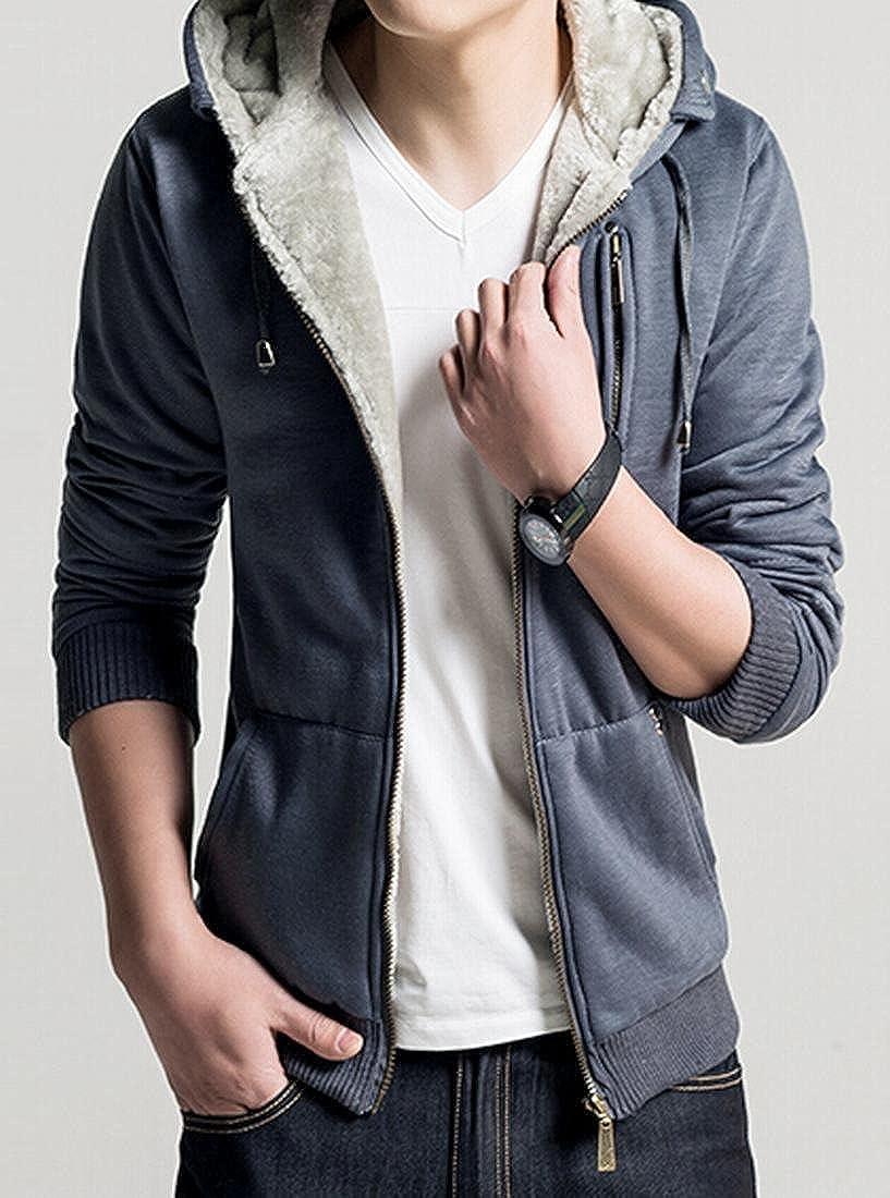 611f12ce729 ... Darkgrey Darkgrey Darkgrey ZAWAPEMIA Men Cotton Winter Coat Faux Fur  Hoodies Thick Warm Jacket d4c2cf ...
