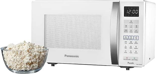 Micro-Ondas 800W 127V, Panasonic, Branco, 25L: Amazon.com