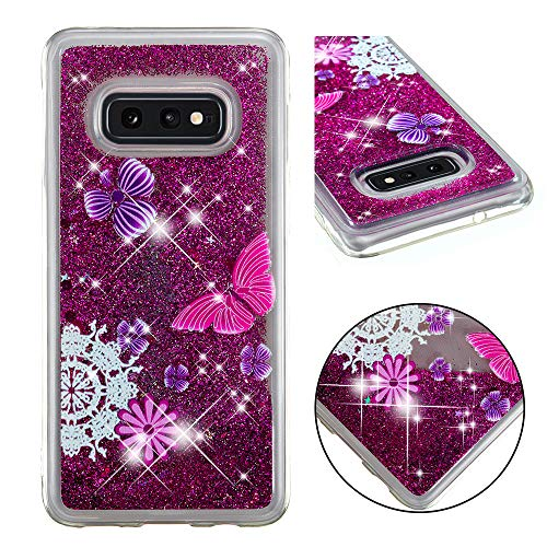 - Galaxy S10e Case, ZERMU Ultra Thin Fashion Bling Luxury Quicksand Flowing Floating Luxury Glitter Waterfall Fusion Moving Liquid Sparkling TPU Bumper Protection Cover for Samsung Galaxy S10e 5.8