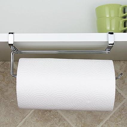 VANCORE cocina estante de papel higiénico accesorio de bajo armario para colgar soportes para cuarto de
