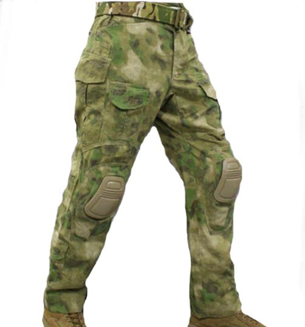 WorldShopping4U Tactical Army Military Shooting BDU Herren Gen3 G3 Combat Hose Hose mit Knie Pads für Airsoft Paintball bei FG