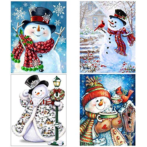 The 10 best diamond painting snowman 4 pack 2020