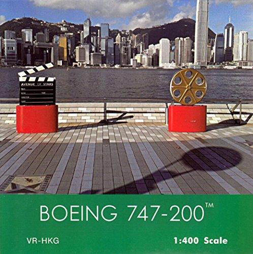 Phx1661 1 400 Phoenix Model Cathay Pacific Boeing 747 200 Reg  Vr Hkg  Pre Painted Pre Built