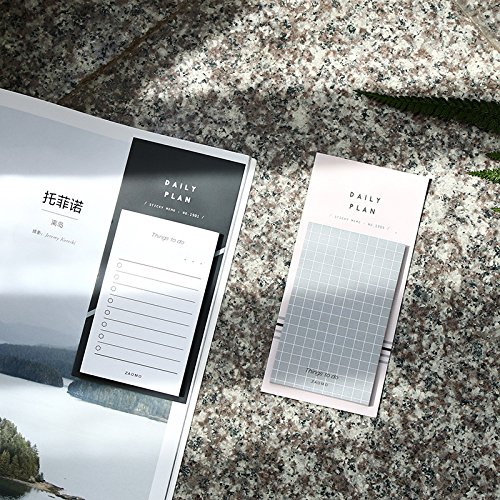 Amazoncom Best Quality Memo Pads Pcs Pure Daily Memo Notes
